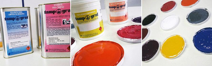 Tintas para Tampografia
